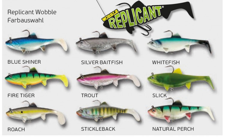 Replicant Wobble StickleBack 23cm 165g